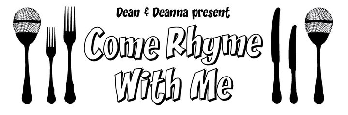 Come Ryhme with Me banner by Dean Atta (2012)