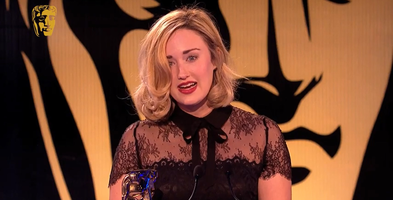 Ashley Johnson, BAFTA Games 2015, Mar 12, 2015 (1366x697)