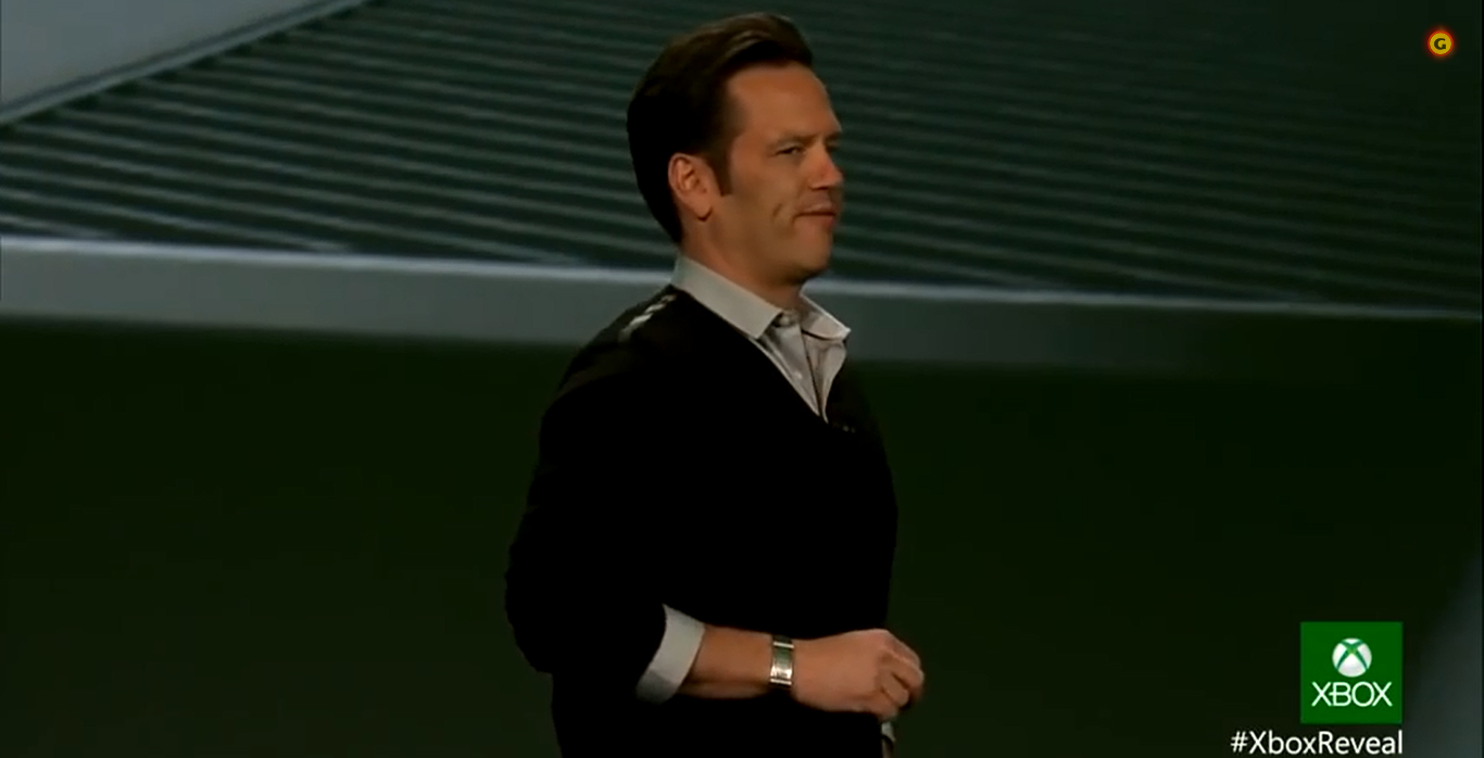 Phil Spencer, Microsoft, Xbox One reveal, May 2015 (1366x698)