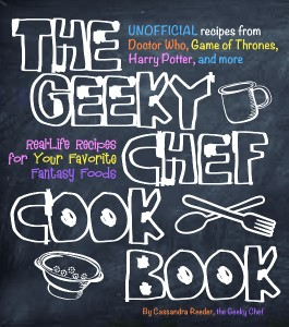 Geeky Chef Cookbook, cover art (530x600)
