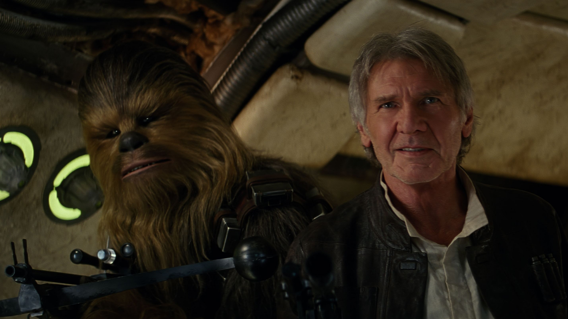 Star Wars: The Force Awakens, 02, Chewbacca, Han Solo (1920x1080)