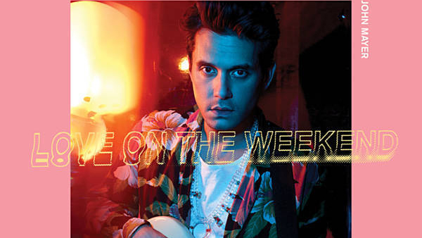 John Mayer - Love on the Weekend single (600x338)
